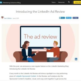 LinkedIn Ad Review